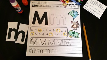 Alphabet Letters and Sounds {Alphabet Expert}