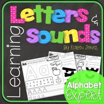 Alphabet Letters and Sounds {Alphabet Expert}