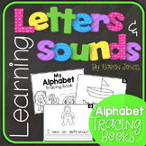 Alphabet Letters and Sounds {Alphabet Tracing Book}