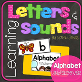 Alphabet Letters and Sounds {Alphabet Undercover}