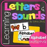 Alphabet Letters and Sounds {Alphabet Undercover}