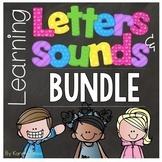 Alphabet Letters and Sounds {BUNDLE}