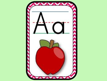 Alphabet Letters and Sounds Slideshow Center