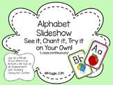 Alphabet Slideshow Center