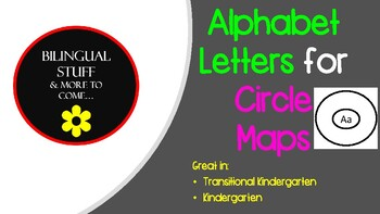 Alphabet Letters for CIRCLE MAP's