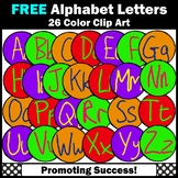 FREE Alphabet Letters for Word Wall, Alphabet Clip Art, Commercial Use SPS