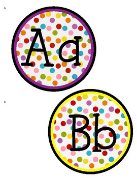 Alphabet Letters for Word Walls