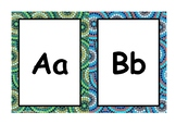 Alphabet Letters with Aboriginal Borders