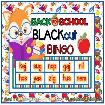 Back to School Theme R.T.I. Resource Teacher Pack