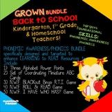 School Theme R.T.I. Resource Teacher Pack