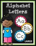 Alphabet Letters Large Version