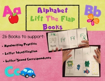 Alphabet Lift The Flap Books