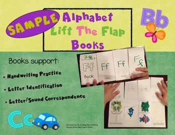 Alphabet Lift The Flap Books- Sample