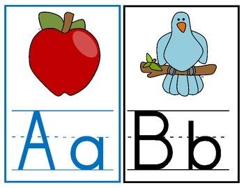 Alphabet Line