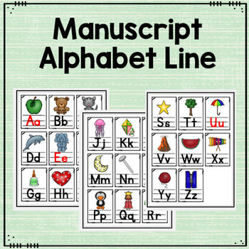 Alphabet Line and Flashcards