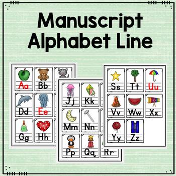 Alphabet Line and Flashcards