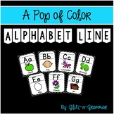 Alphabet Line-A Pop of Color