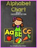 Alphabet Line :  Bright Chalkboard Edition