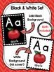 Alphabet Line: Canada Theme (black & white set)