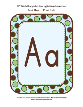 Alphabet Line – Coordinates with Turtle Time Classroom Theme