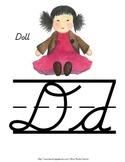 Alphabet Line {Cursive}