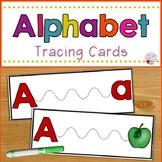 Alphabet Line Tracing Cards