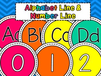 Alphabet Line and Number Line