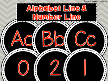 Alphabet Line and Number Line