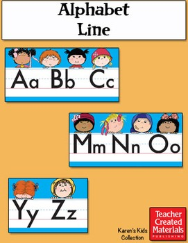 Alphabet Line by Karen's Kids (Digital Download)