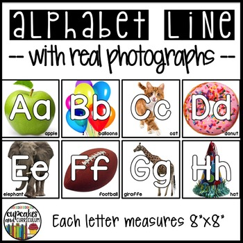 Alphabet Line with Photographs