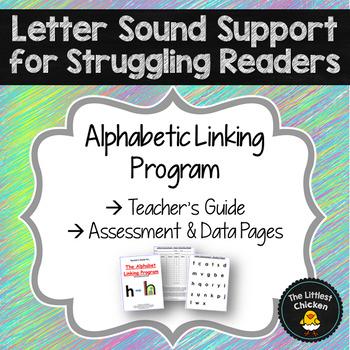 Alphabet Linking Program Teacher's Guide, Assessment & Data Pages