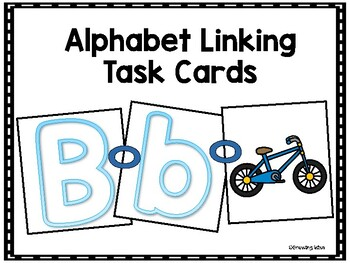Alphabet Linking Task Cards