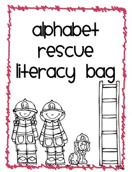 Alphabet Literacy Bag