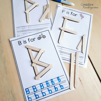 Alphabet Literacy Centers Bundle! Letter Recognition and Formation
