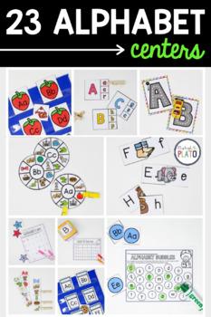 20 Alphabet Centers