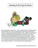 Alphabet Literacy Centers - Reading and Writing the Room