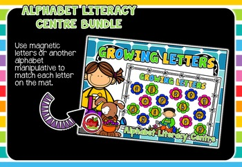 Alphabet Literacy Centre BUNDLE