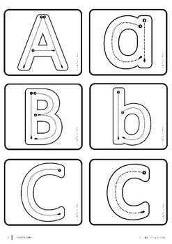 Alphabet Literacy Centre Printables