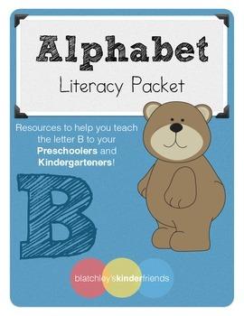 Alphabet Literacy Packets - Letter B