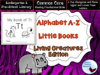 Alphabet Little Books Living Creatures