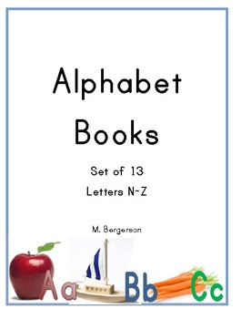 Alphabet Little Books N-Z (Guided, Shared or Independent Reading)