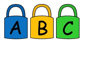 Alphabet Lock and Key