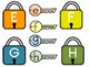 Alphabet Locks and Keys Matching Game