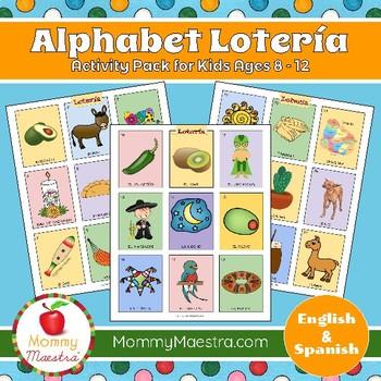 Alphabet Lotería ~ Lotería abecedario