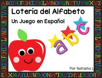 Alphabet Lotto Game (Spanish Version)