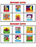 Alphabet Lotto, letter learning game