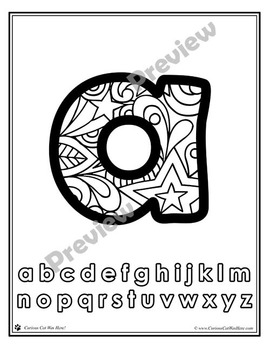Alphabet Letters: Lowercase