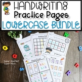 Alphabet Handwriting Practice Pages Bundle | Lowercase Letters