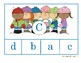 Alphabet Lowercase & Uppercase Letter Match | Winter Edition