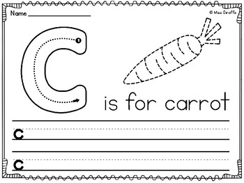 Alphabet Lowercase Letters Writing Practice Worksheets ...